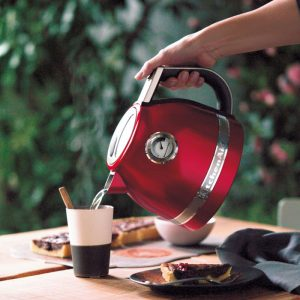 bouilloire rouge empire kitchenaid
