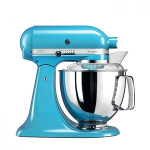 robot de cuisine bleu KitchenAid 5KSM175PSECL