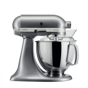 robot cuisine gris argenté KitchenAid 5KSM175PSECU