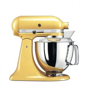 robot cuisine jaune KitchenAid 5KSM175PSEMY