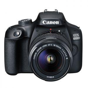 Canon EOS 4000D NOIR + Objectif EF-S 18-55 mm III