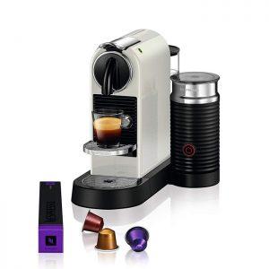 DeLonghi EN 267.WAE Citiz & Milk – Machine à capsules Nespresso – Blanc