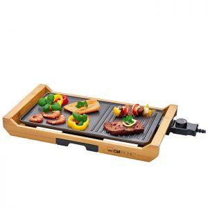Clatronic TG 3697 – Grill-Plancha électrique – 1800 W