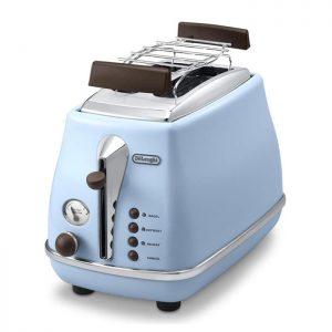 DeLonghi Icona Vintage CTOV2103AZ – Grille pain – Bleu