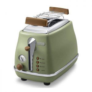 DeLonghi Icona Vintage CTOV2103GR – Grille pain – Vert