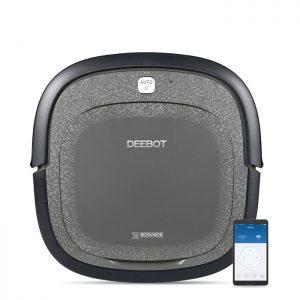 Ecovacs Deebot SLIM 2 – Aspirateur robot – Noir