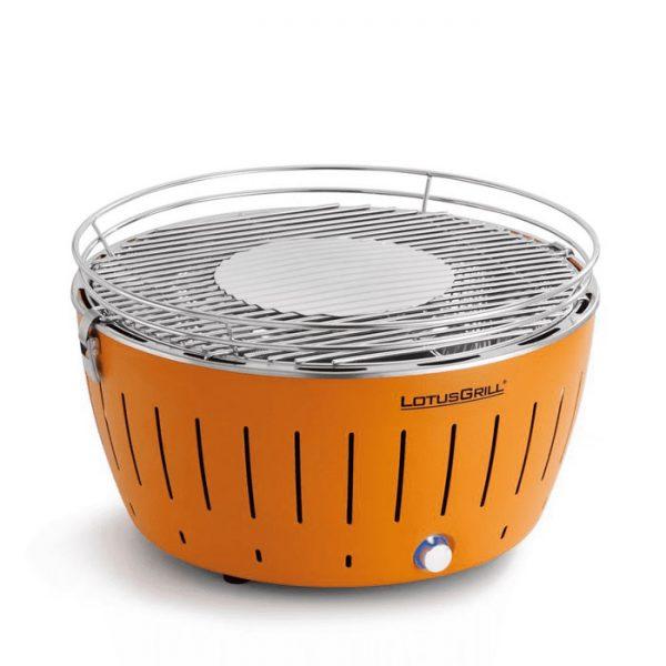 Barbecue au charbon LotusGrill G-OR-34 34 cm orange mandarine sans fumée