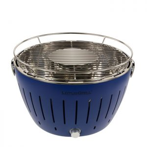 LotusGrill TB34 G Bleu foncé – Barbecue sans fumée
