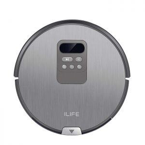 ILife V80 – Aspirateur robot – 2 en 1 – Aspire et lave