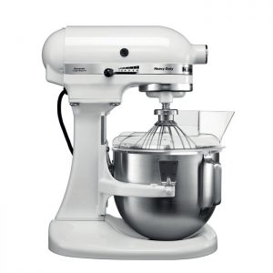 KitchenAid Artisan 5KPM5EWH – Robot de cuisine – Blanc