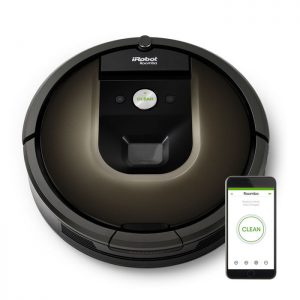 iRobot Roomba 980 – Aspirateur Robot Connecté
